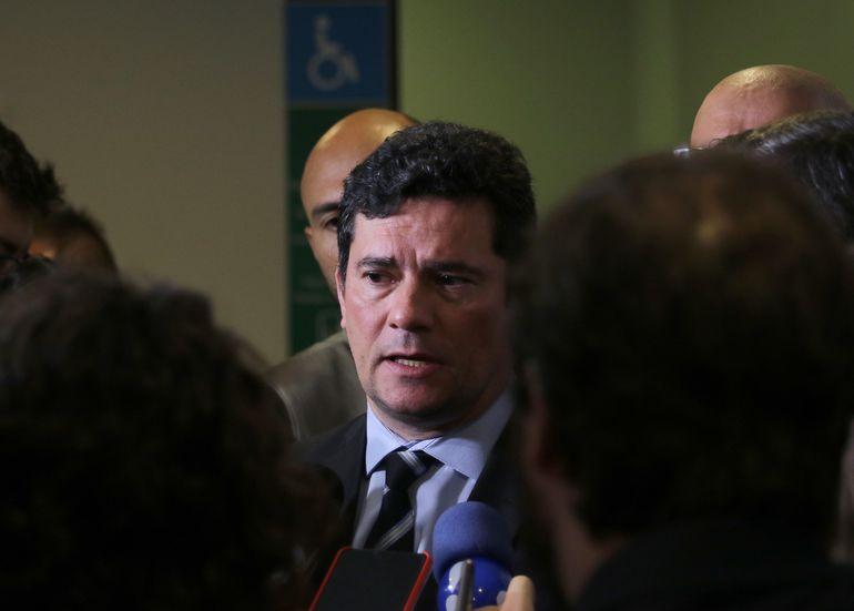 O ministro da Justiça, Sérgio Moro. Foto: Wilson Dias/ABr