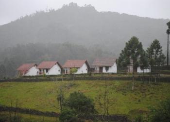 Vista da pousada Verde Paraíso, de Nova Petrópolis. Foto: Divulgação
