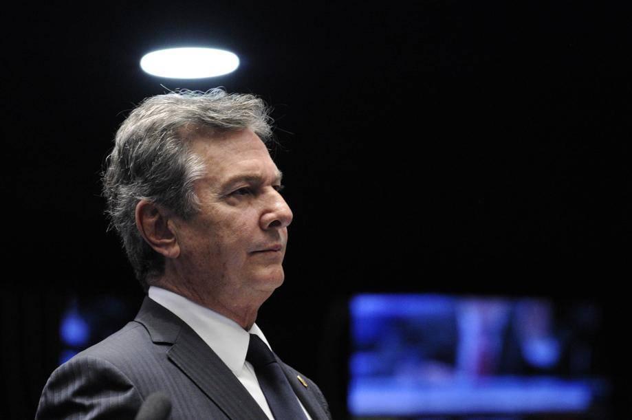 Collor se manifestou pelas redes sociais sobre o assunto. Foto: Edilson Rodrigues/Agência Senado