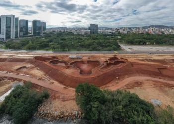 O local será destinado à prática de esportes e terá a maior pista de skate da América Latina. Foto: Jefferson Bernardes/PMPA