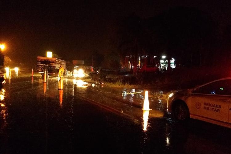 O local do acidente fica a cerca de dois quilômetros da zona urbana de Venâncio Aires. Foto: Divulgação/CRBM