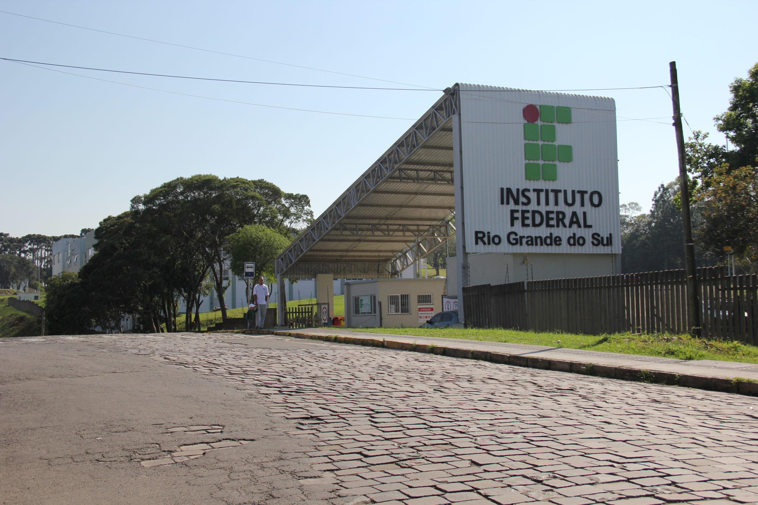 Fachada do IFRS em Caxias do Sul. Foto: Luciano Cardoso/Divulgação