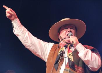 Jorge Freitas se tornou um dos maiores intérpretes do nativismo gaúcho. Foto: Divulgação/Prefeitura de Cruz Alta