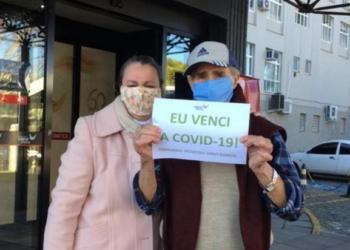 Adelphino Gadens com a filha. Foto: Divulgação/Hospital Virvi Ramos