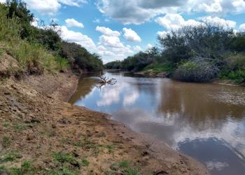 Rio Gravataí, Gravataí, Rio Grande do Sul – 08.fev.2020   Foto: Francisco Marodin/DRH Sema