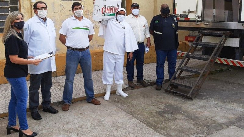 Quatro instituições filantrópicas foram beneficiadas com doação. Foto: IDA Rosário do Sul