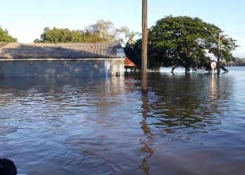 Defesa Civil emitiu dois alertas de enchentes nesta sexta-feira. Foto: Divulgação/Defesa Civil