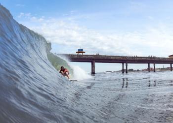 Dado Bier e surf