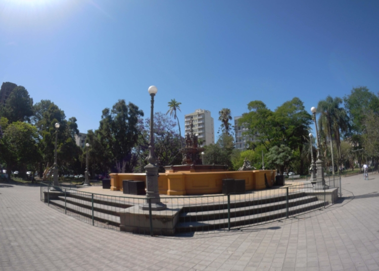 Imagem do centro de Pelotas. Foto: Rosana Klafke/Sem Roteiro/Agora no RS