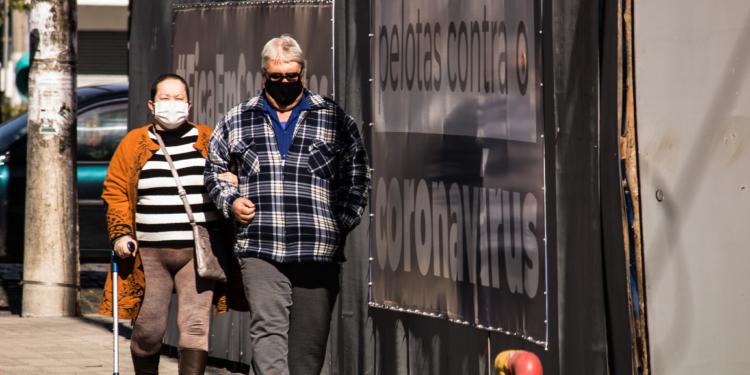 Cotidiano no centro de Pelotas durante a pandemia do coronavírus. Foto Michel Corvello/Prefeitura de Pelotas