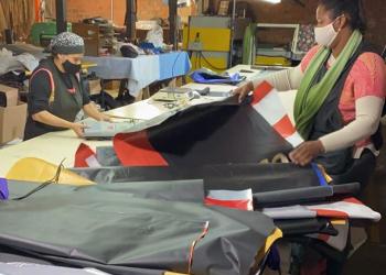 Ao todo, serão confeccionados 40 sacos de dormir. Foto: Divulgação
