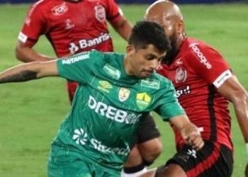 Brasil de Pelotas ficou no 0 a 0 diante do Cuiabá. Foto: Divulgação/Cuiaba EC