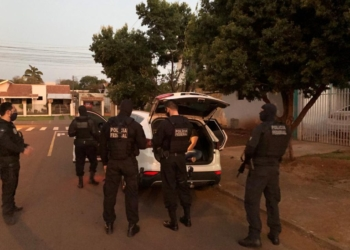 Mais de mil policiais federais cumprem 623 mandados judiciais. Foto: Divulgação/PF