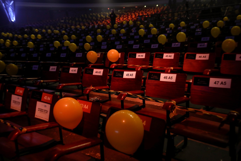 Porto Alegre, RS 13/09/2020 | Show do cantor Serginho Moah no Auditório Araújo Vianna com adaptações aos protocolos de segurança em meio a pandemia da Covid-19. Foto: Maria Ana Krack/PMPA