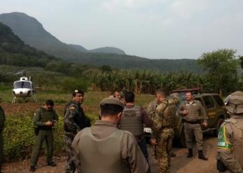 Uma operação conjunta foi realiza para localizar criminosos. Foto: Divulgação/BOPE