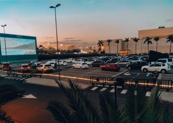 Cine Drive-In no Rio de Janeiro