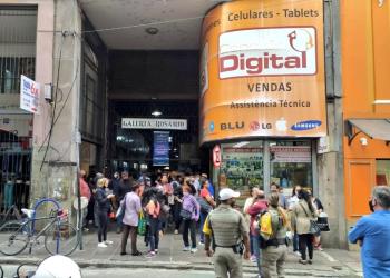 O entorno também foi isolado. Foto: Divulgação/Brigada Militar