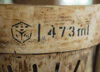 Caixa, Dado Bier e inscrição 473ml.