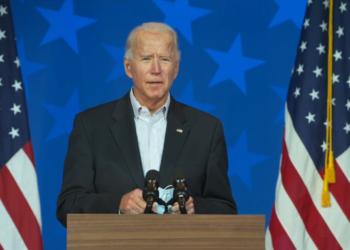 Joe Biden. Foto: Pool / reprodução de TV