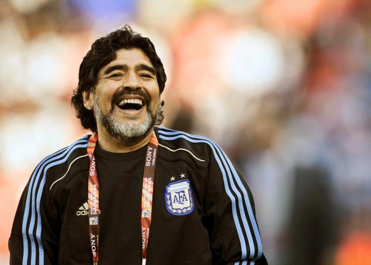 Diego Maradona. Foto: Divulgação/AFA