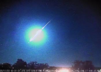 Fenômeno foi captado por observatório localizado em Taquara. Foto: Divulgação/Observatório Espacial Heller & Jung
