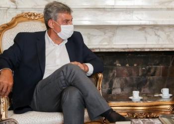 Prefeito eleito de Porto Alegre, Sebastião Melo. Foto: Felipe Dalla Valle/Palácio Piratini