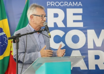 Luiz Carlos Busato. Foto: Vinicius Thormann/Prefeitura de Canoas