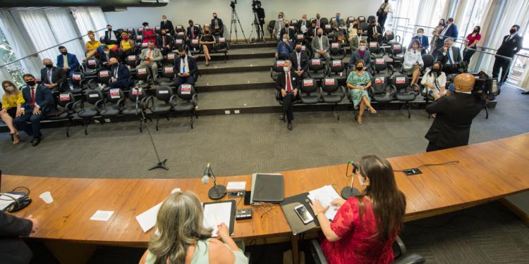 Cerimônia de posse dos vereadores. Foto: Elson Sempé Pedroso/CMPA