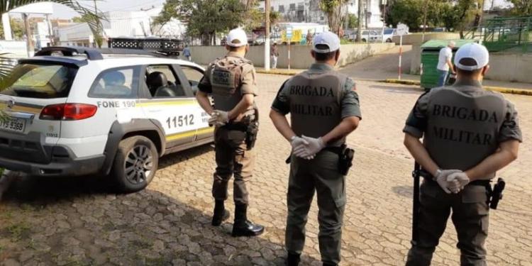 Agentes ativos da Brigada Militar estão na lista preferencial. Foto: Divulgação/BM