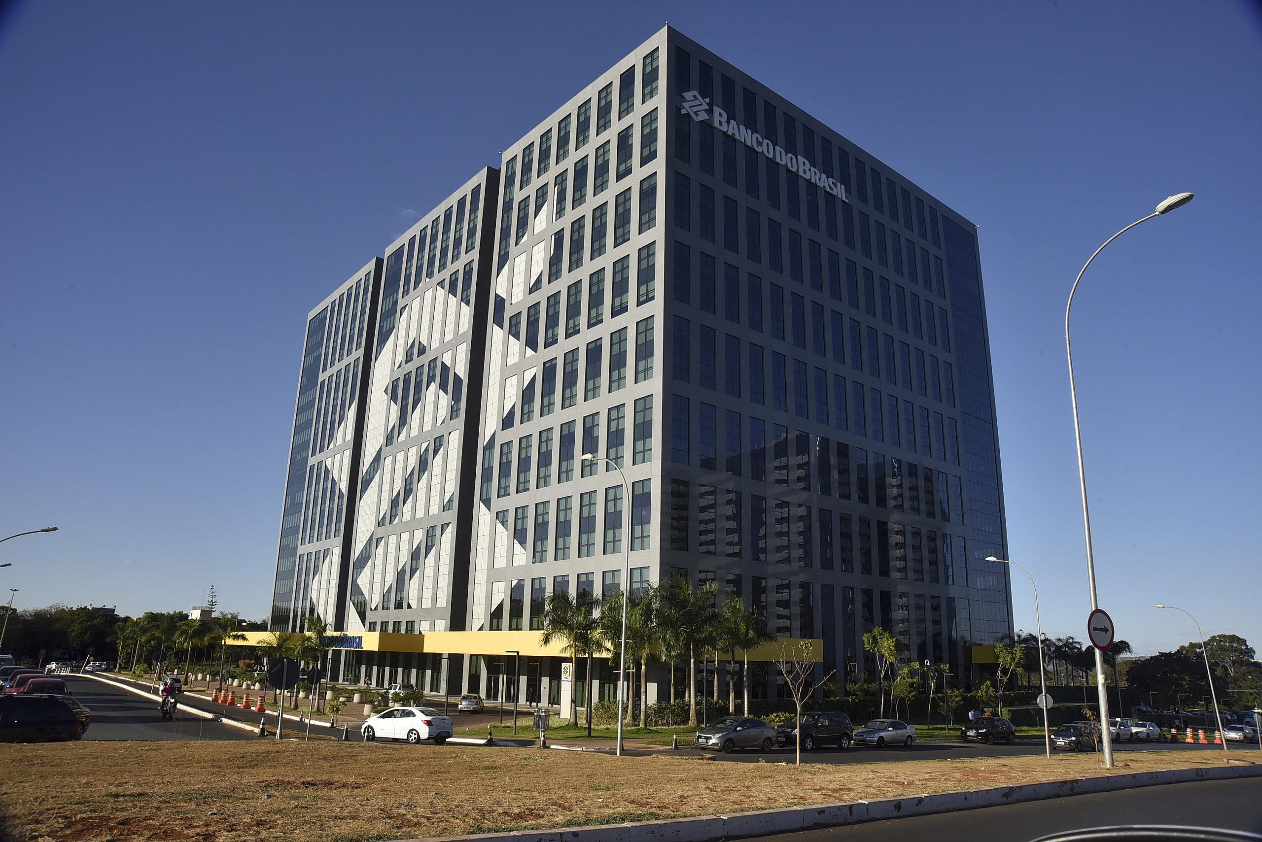 Fachada do edifício sede do Banco do Brasil em Brasília.  Foto: Fernando Bizerra/Agência Senado