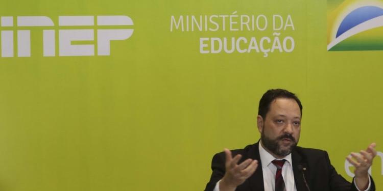 O presidente do Inep, Alexandre Lopes. Foto: Marcello Casal/Agência Brasil