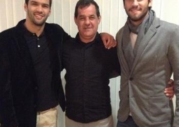 Muriel, José Agostinho e Alisson. Foto: Reprodução/Instagram