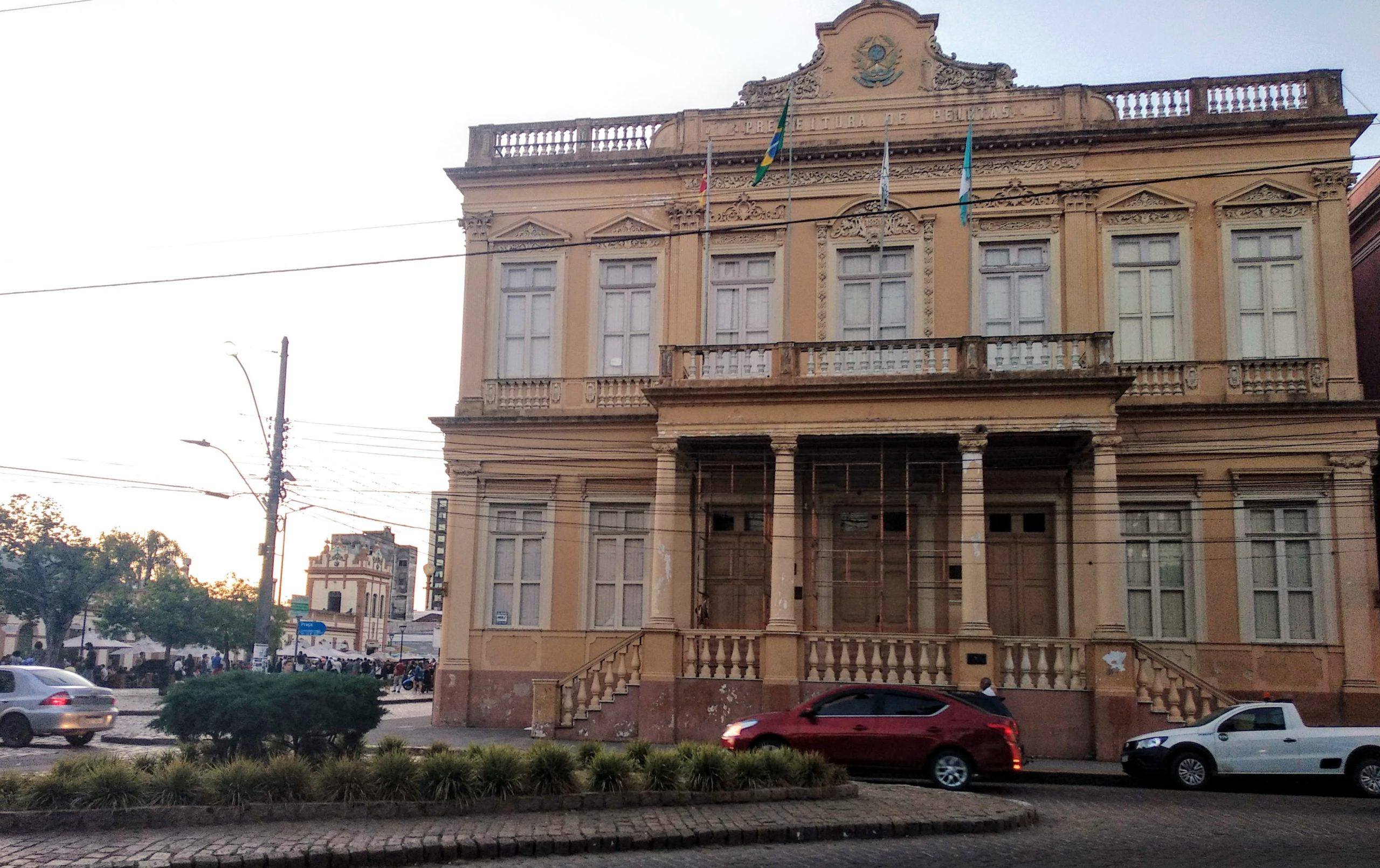 Imagem da Prefeitura de Pelotas. Foto: Rosana Klafke/Sem Roteiro/Agora no RS