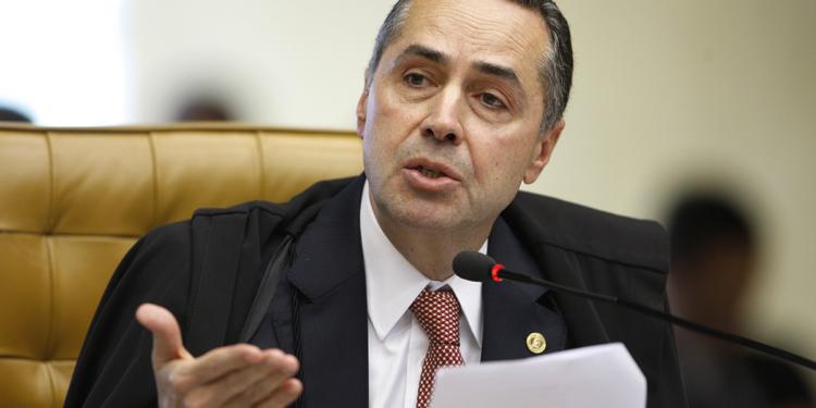 O relator, ministro Luís Roberto Barroso. Foto:Nelson Jr./SCO/STF