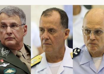 Comandantes Militares. Foto: Agência Brasil