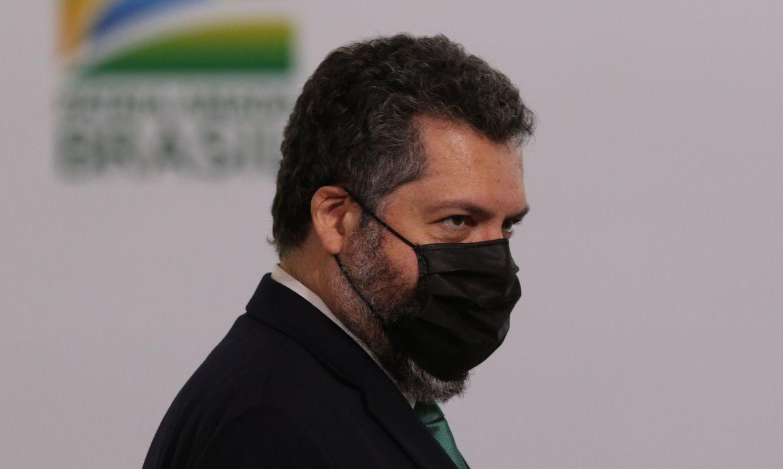 O ex-ministro das Relações Exteriores, Ernesto Araújo. Foto: Fabio Rodrigues Pozzobon/ABr