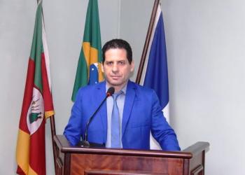 Alberi Dias (MDB), presidente da Câmara de Canela. Foto: Divulgação/Câmara de Vereadores de Canela