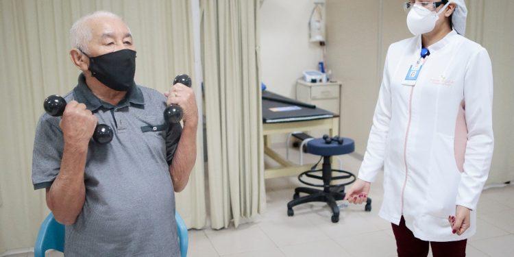 Iniciativa tem ajudado a melhorar sintomas deixados pela doença, principalmente a fadiga.  Foto: Divulgação/Iges-DF
