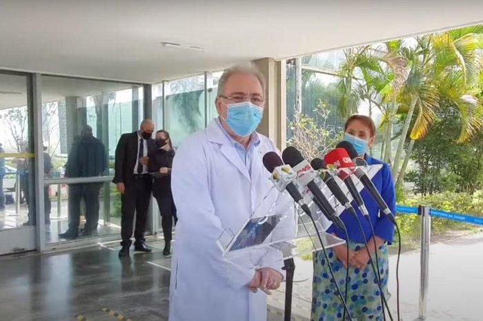 Ministro da Saúde disse que a prioridade é ampliar a campanha de imunização. Crédito: Ministério da Saúde