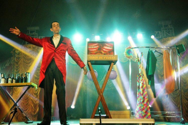 Circo de Pulgas é um dos números do 12 Horas no Circo, Foto: Sérgio Gonzalez/Divulgação