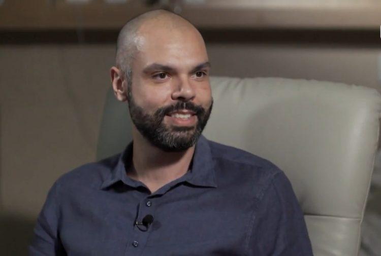 Bruno Covas, em entrevista de 2019. Foto: reprodução / Globo News