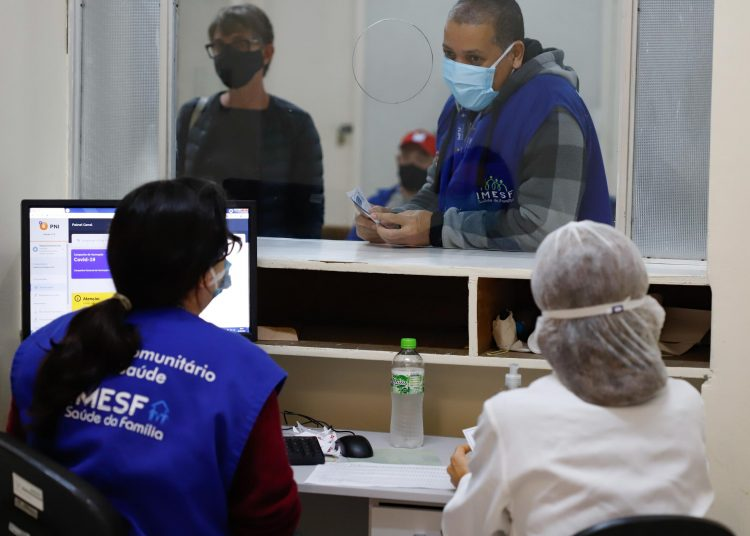 Porto Alegre, RS   08/06/2021   Centro de Saúde IAPI. Foto: Cristine Rochol / PMPA