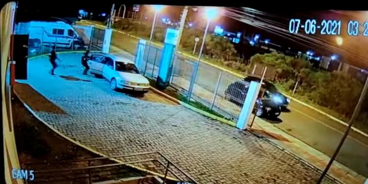 Foto: câmera de videomonitoramento / Divulgação