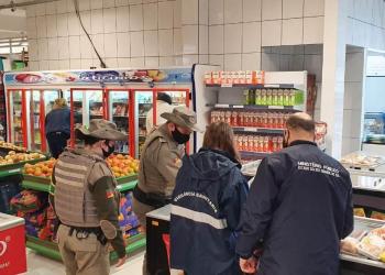 Fiscalização foi realizada em três estabelecimentos em Alpestre. Foto: Divulgação/MPRS