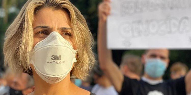 Manuela D'Ávila usou as redes sociais para relatar as ameaças. Foto: Divulgação / PCdoB
