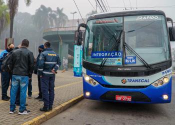 Ônibus da Transcal. Foto: Tony Capellão / Prefeitura de Canoas