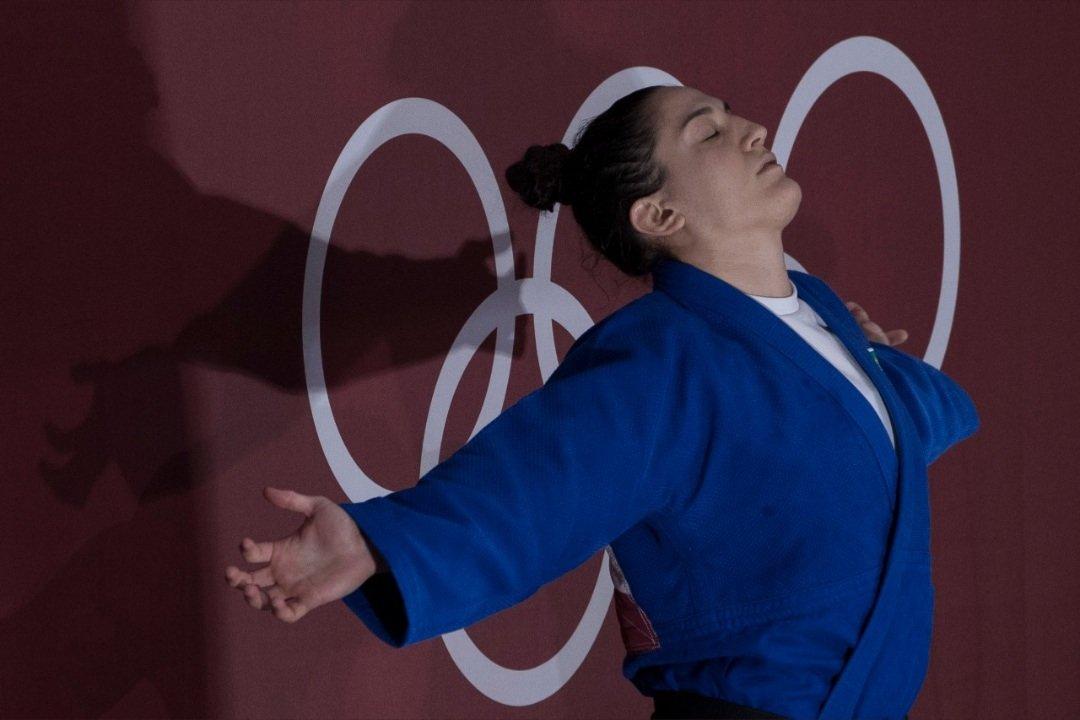Mayra Aguiar é bronze no judô. Foto: Time Brasil