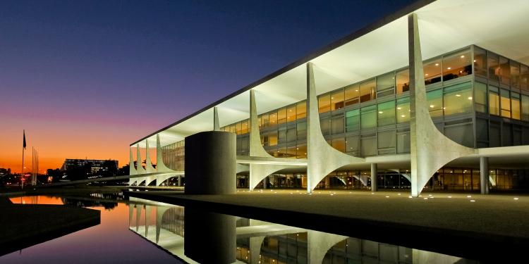 Brasília, DF, 24/06/2011. Fachada do Palácio do Planalto. Foto: Roberto Stuckert Filho/ Presidência da República