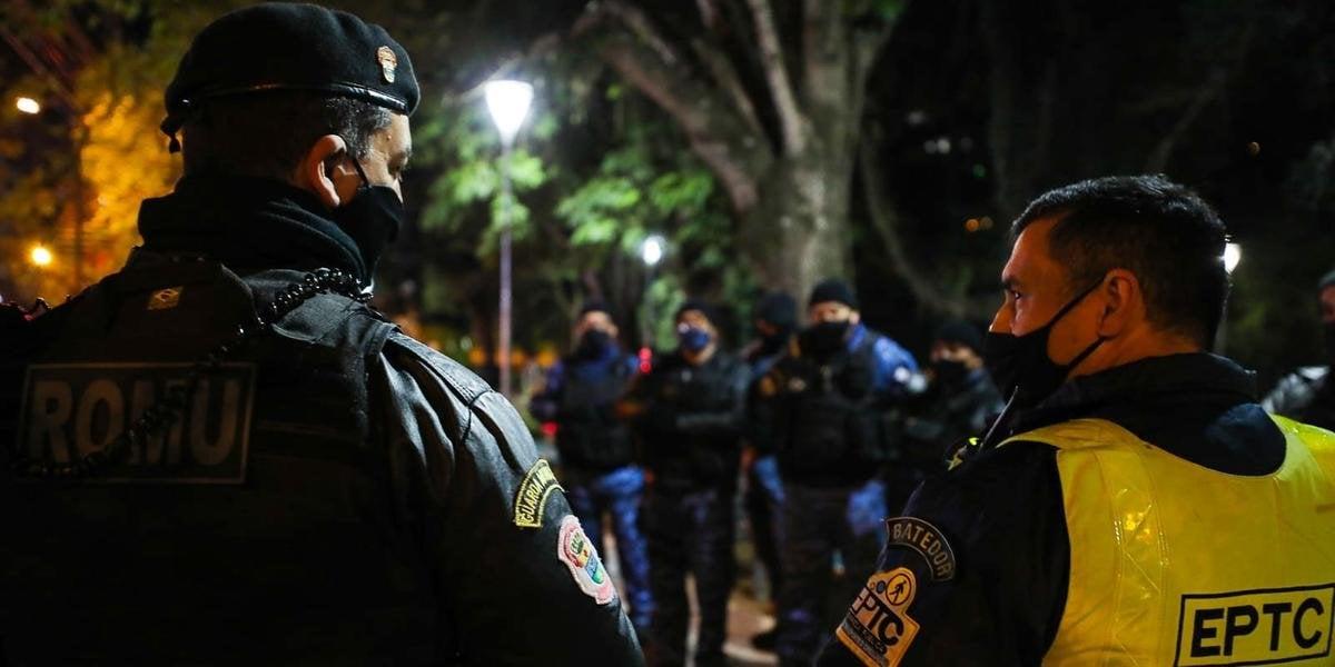 Foto:  A ação acorreu na Cidade Baixa. Foto: Divulgação/Guarda Municipal de Porto Alegre