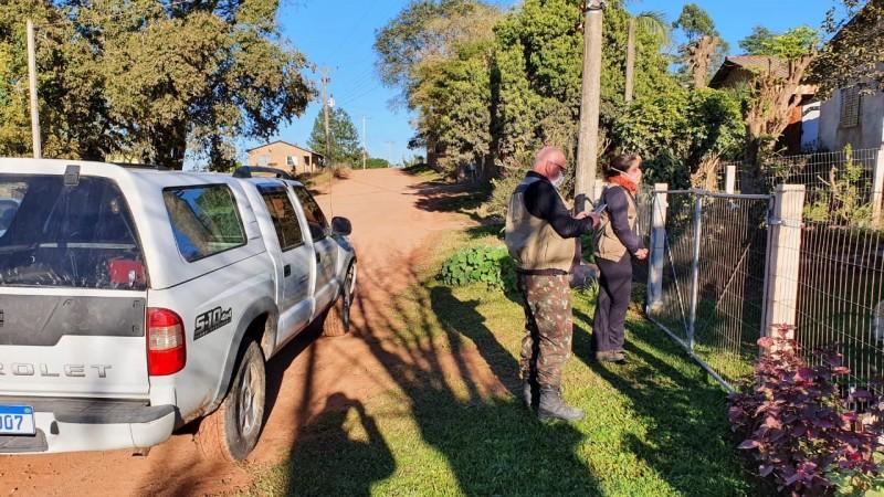 O objetivo do trabalho de campo é formar uma rede de monitoramento da circulação do vírus. Foto: Divulgação/ SES